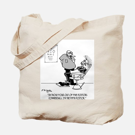 The Fifth Eye Doctor Tote Bag