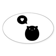 Kitty Love Decal