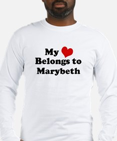 My Heart: Marybeth Long Sleeve T-Shirt