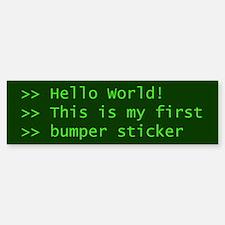 Computer Science Bumper Bumper Bumper Sticker