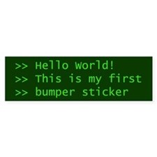 Computer Science Bumper Bumper Sticker
