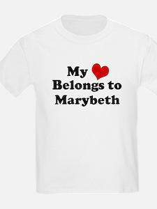 My Heart: Marybeth Kids T-Shirt