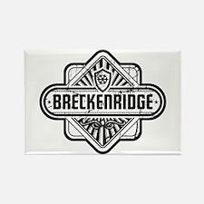 Breckenridge Vintage Square Rectangle Magnet