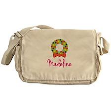 Christmas Wreath Madeline Messenger Bag