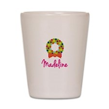 Christmas Wreath Madeline Shot Glass