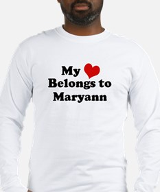My Heart: Maryann Long Sleeve T-Shirt