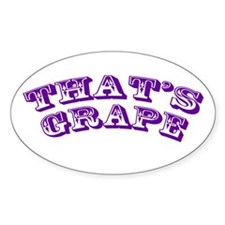 That's Grape Decal