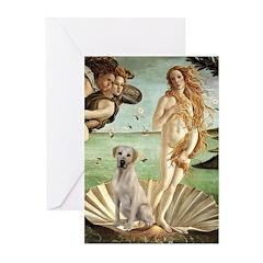 Venus - Yellow Lab #7 Greeting Cards (Pk of 20)