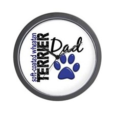 Soft-Coated Wheaten Terrier Dad 2 Wall Clock