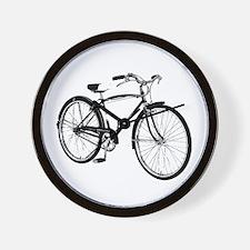 Retro Cruiser Bike Wall Clock
