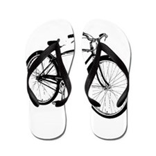 Retro Cruiser Bike Flip Flops