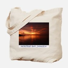 Montego Bay Sunset Tote Bag