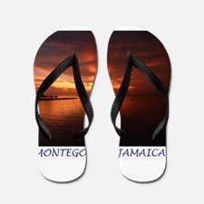 Montego Bay Sunset Flip Flops