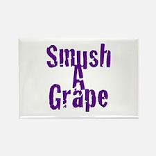 Smush A Grape Rectangle Magnet