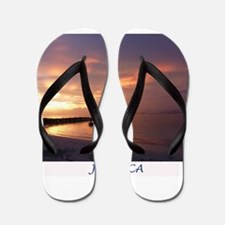Jamaica Sunset Flip Flops