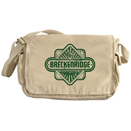Breckenridge Vintage Square Messenger Bag