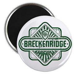 Breckenridge Vintage Square Magnet