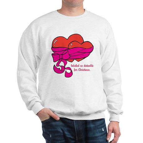 Christmas Hearts Sweatshirt