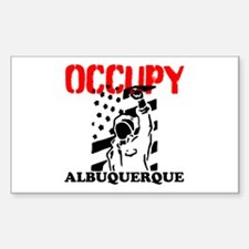 Occupy Albuquerque Sticker (Rectangle)