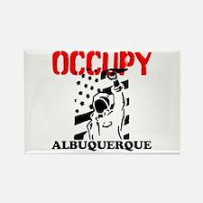 Occupy Albuquerque Rectangle Magnet (10 pack)
