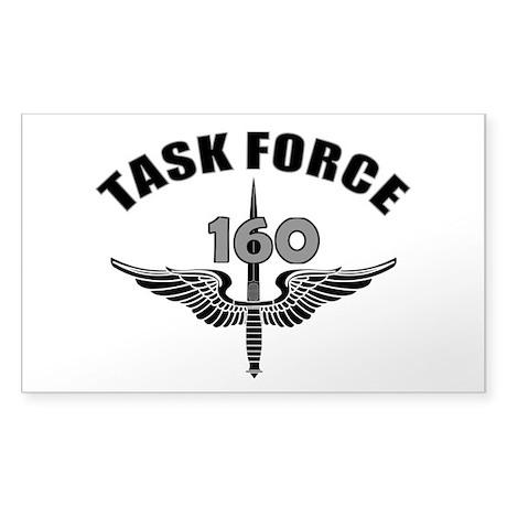 Task Force 160 Sticker (Rectangle)