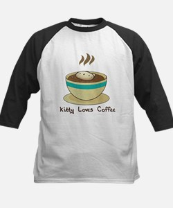 Kitty Loves Coffee (w & w/o t Tee