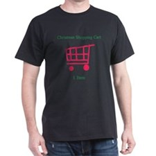 Christmas Shopping Cart Appar T-Shirt