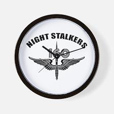 Night Stalkers TF-160 Wall Clock