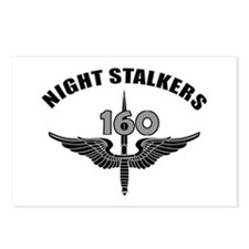 Night Stalkers TF-160 Postcards (Package of 8)