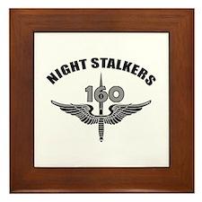 Night Stalkers TF-160 Framed Tile