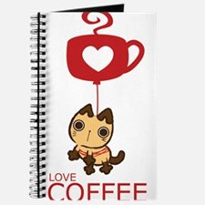 Crazy Cat Loves Coffee Journal