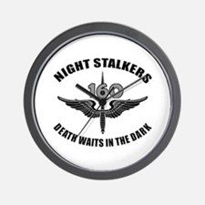 Night Stalkers TF-160 Wall Clock
