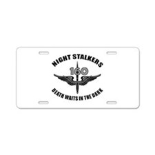 Night Stalkers TF-160 Aluminum License Plate