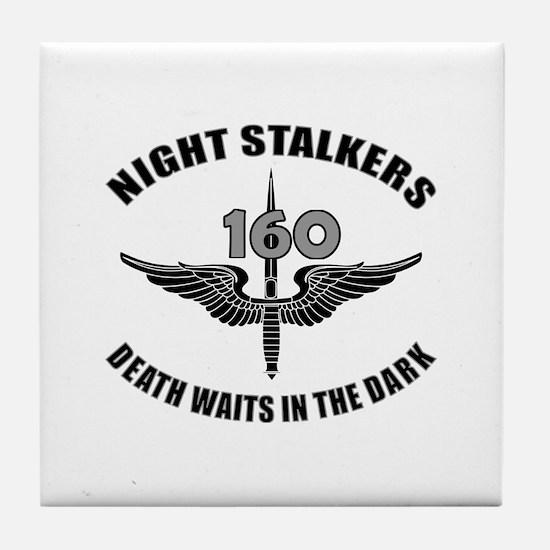 Night Stalkers TF-160 Tile Coaster