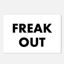 Freak Out Postcards (Package of 8)