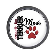 Smooth Fox Terrier Mom 2 Wall Clock