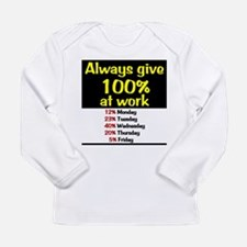 100% Long Sleeve Infant T-Shirt