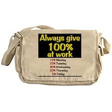 100% Messenger Bag