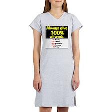 100% Women's Nightshirt