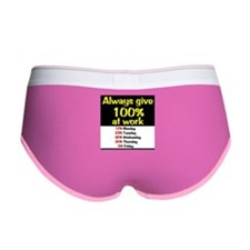 100% Women's Boy Brief