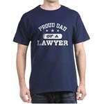 Proud Dad of a Lawyer Dark T-Shirt