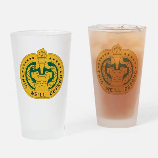 Drill Sergeant Drinking Glass
