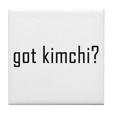 Got Kimchi? Tile Coaster