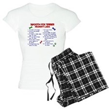 Smooth Fox Terrier Property Laws 2 Pajamas