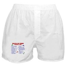 Smooth Fox Terrier Property Laws 2 Boxer Shorts