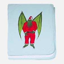 Cthulhu Santa baby blanket