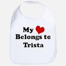 My Heart: Trista Bib