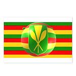 Old Hawaiian Flag Design Postcards (Package of 8)