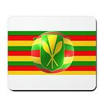 Old Hawaiian Flag Design Mousepad