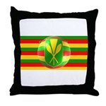 Old Hawaiian Flag Design Throw Pillow